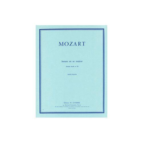 COMBRE MOZART WOLFGANG AMADEUS - SONATE FACILE N.15 EN UT MAJ. KV545 - PIANO
