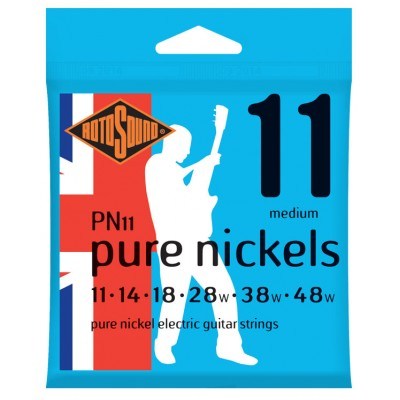 ROTOSOUND PURE NICKEL MEDIUM 11 14 18 28 38 48