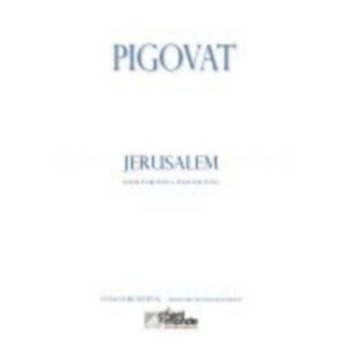 CHANT DU MONDE PIGOVAT BORIS - JERUSALEM, POEME POUR PIANO