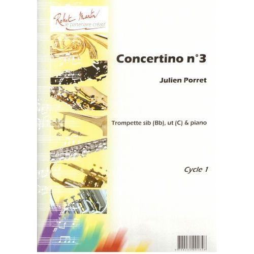 ROBERT MARTIN PORRET J. - CONCERTINO N°3, SIB OU UT