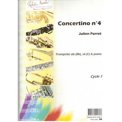 ROBERT MARTIN PORRET J. - CONCERTINO N4, SIB OU UT