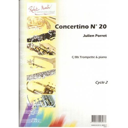 ROBERT MARTIN PORRET J. - CONCERTINO N20, SIB OU UT