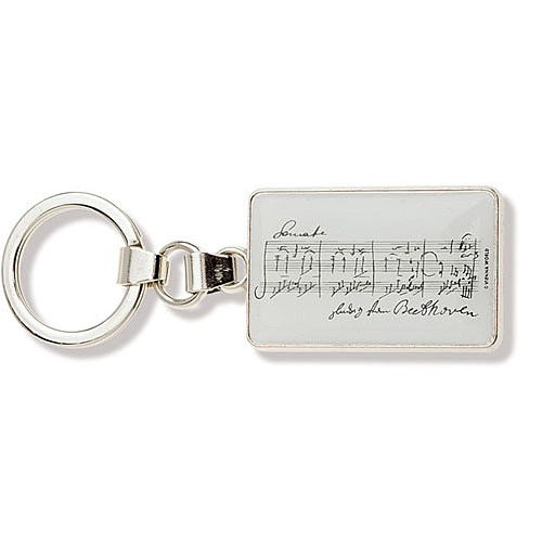 ANNE FUZEAU PRODUCTIONS MUSIC KEY RING BEETHOVEN