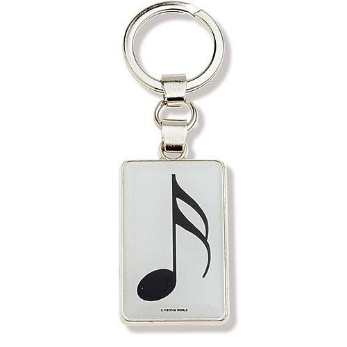VIENNA WORLD MUSIC KEY RING SEMIQUAVER NOTE