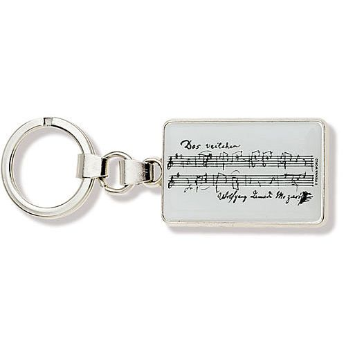 ANNE FUZEAU PRODUCTIONS MUSIC KEY RING MOZART