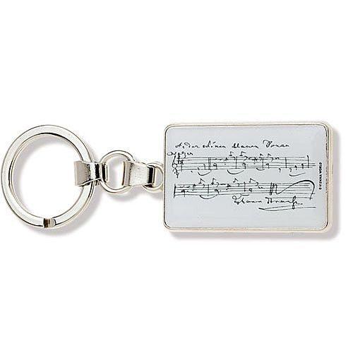 ANNE FUZEAU PRODUCTIONS MUSIC KEY RING STRAUSS