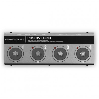 positive grid bt4 bluetooth midi pedal. Black Bedroom Furniture Sets. Home Design Ideas