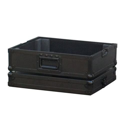 POWER ACOUSTICS FLIGHT CASE POUR PLATINE VINYL COULEUR NOIRE