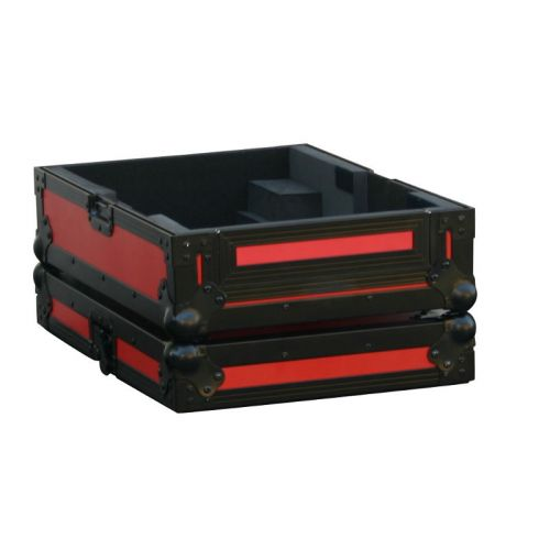 POWER ACOUSTICS FLIGHT CASE POUR CDJ900 ET CDJ2000 COULEUR ROUGE