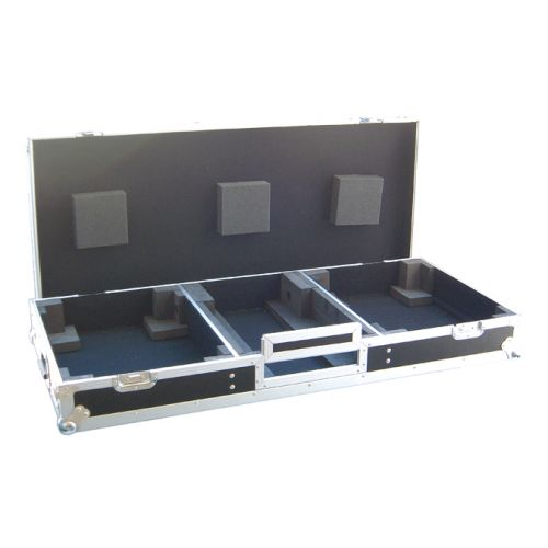 POWER ACOUSTICS FLIGHT CASE MIX + PLATINES VINYLES