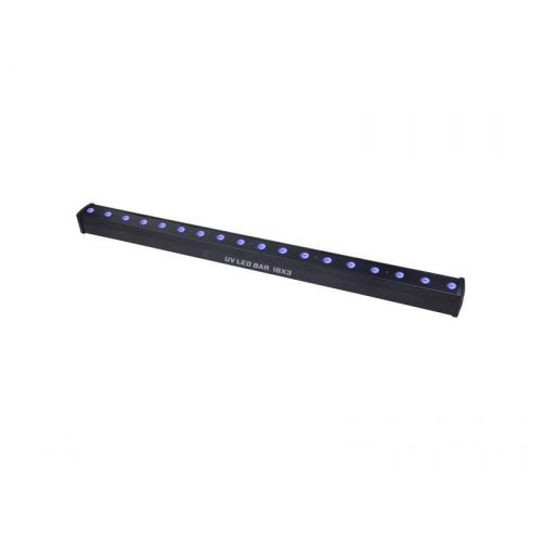 POWER LIGHTING UV BAR LED 18X3