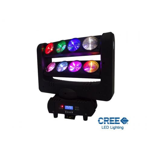 POWER LIGHTING SPIDER LED LYRE RGBW