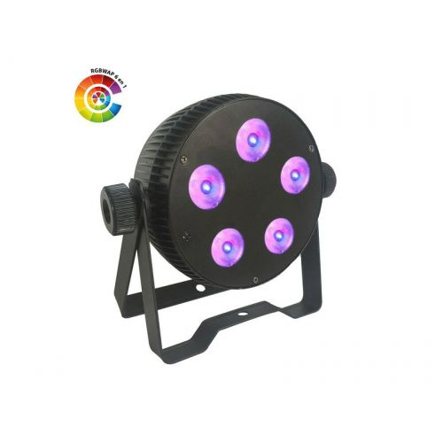 POWER LIGHTING LED PAR SLIM 5x10W HEXA