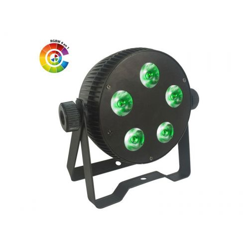 POWER LIGHTING LED PAR SLIM 5x10W QUAD