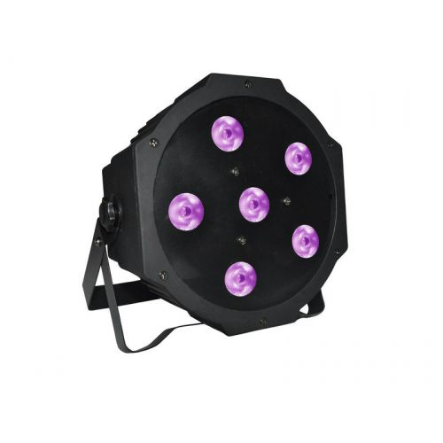 POWER LIGHTING LED SLIM PAR 6x3W UV