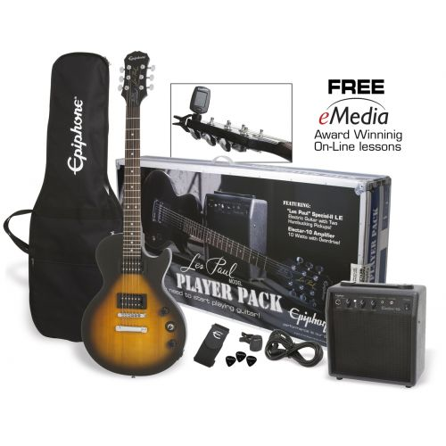 EPIPHONE LES PAUL PLAYER PACK UK-240V