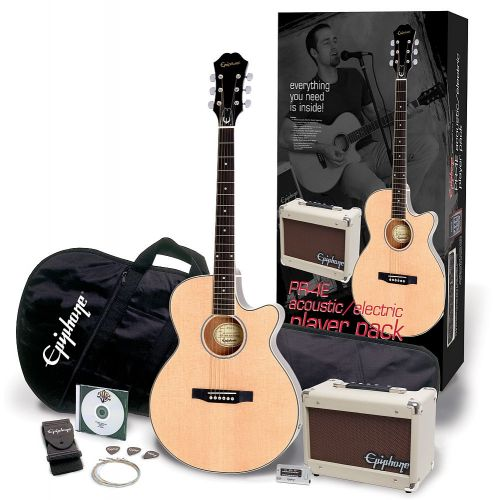 EPIPHONE PR4E PLAYER PACK NATURAL 240V-EU