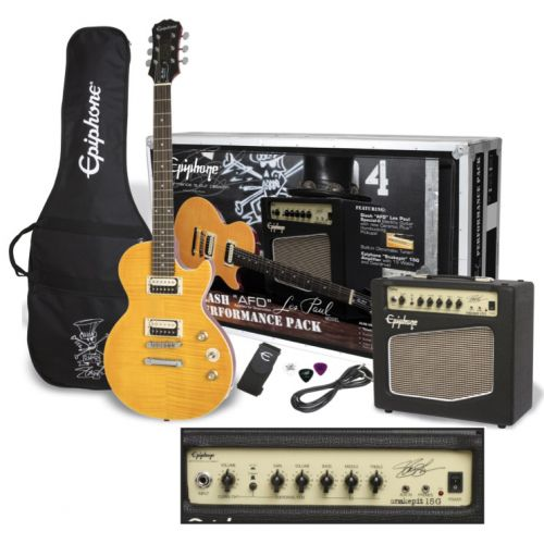 EPIPHONE SLASH AFD LES PAUL PERFORMANCE PACK UK-240V AA PACK COLLECTION 2016
