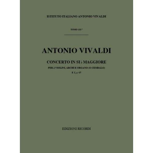 RICORDI VIVALDI A. - CONCERTI IN SI BEM. OP.IX N.9 RV 530 - VIOLON, CORDES ET BASSE CONTINUE
