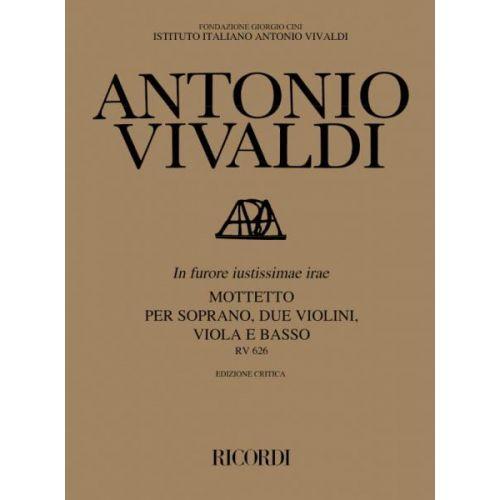 RICORDI VIVALDI A. - IN FURORE JUSTISSIMAE IRAE RV 626 - COMMENTAIRE CRITIQUE