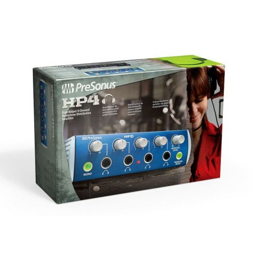 PRESONUS HP 4 - 4 CHANNEL HEADPHONE PREAMP