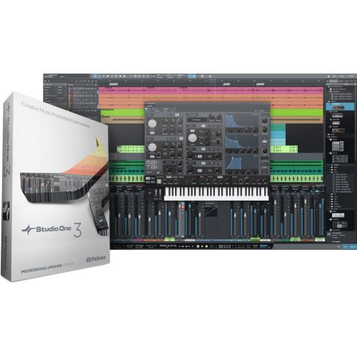 PRESONUS STUDIO ONE - UPDATE FROM PRO V1/V2 TO PROFESSIONAL V3