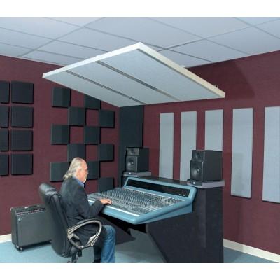primacoustic saturna panneau isolant de plafond vertical 122 x 60 x 5 cm noir. Black Bedroom Furniture Sets. Home Design Ideas