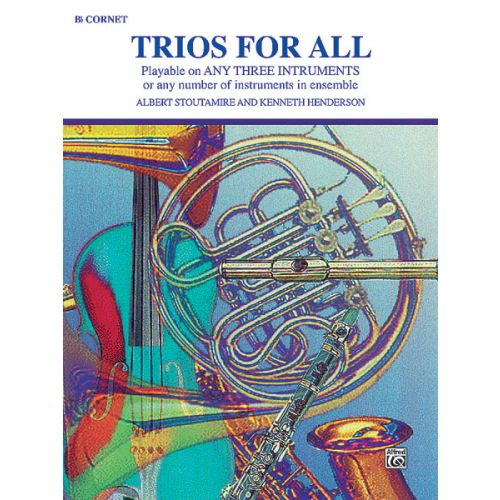ALFRED PUBLISHING TRIOS FOR ALL - TRUMPET