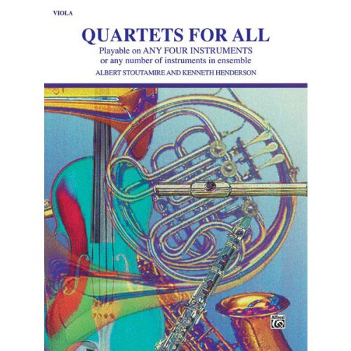 ALFRED PUBLISHING QUARTETS FOR ALL - VIOLA ENSEMBLE