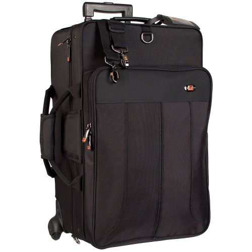 PROTEC IPAC TRIPLE HORN PRO PAC CASE W/WHEELS