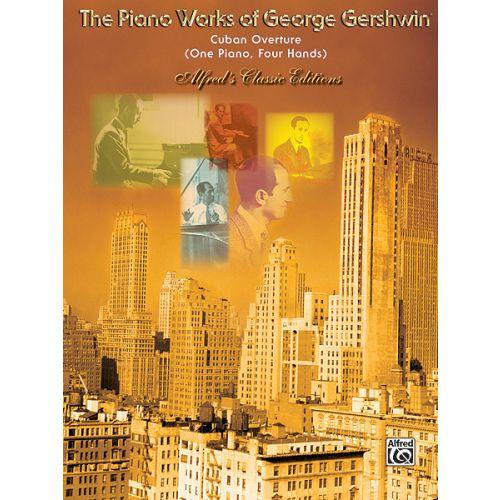 ALFRED PUBLISHING GERSHWIN GEORGE - CUBAN OVERTURE - PIANO DUET