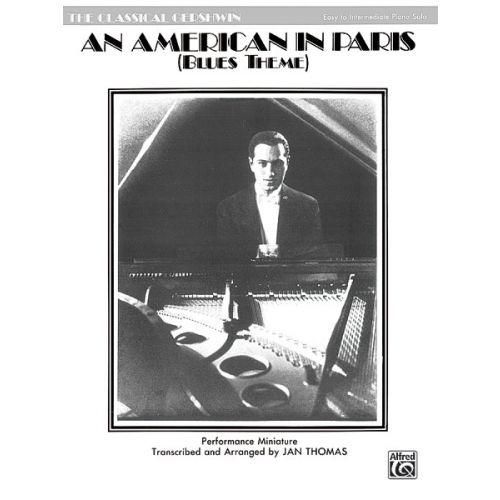 ALFRED PUBLISHING AMERICAN IN PARIS - PIANO SOLO