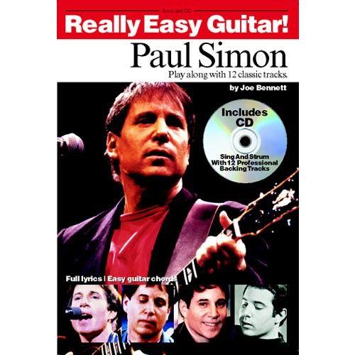 MUSIC SALES BENNETT PAUL - REALLY EASY GUITAR - PAUL SIMON - GUITAR