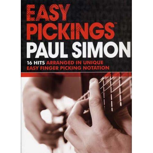 WISE PUBLICATIONS SIMON PAUL - EASY PICKING 16 HITS - GUITAR TAB