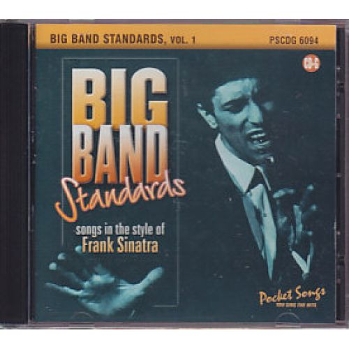 pocket songs cd pocket songs big band standards frank sinatra style vol 1. Black Bedroom Furniture Sets. Home Design Ideas