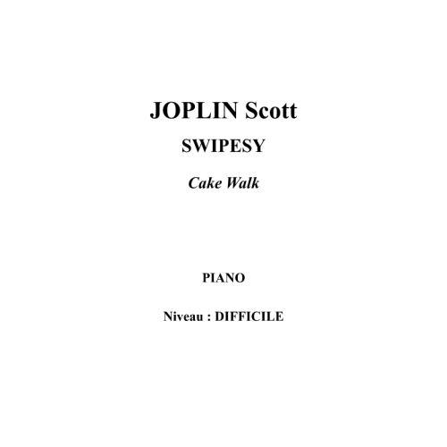 IPE MUSIC JOPLIN SCOTT - SWIPESY - PIANO