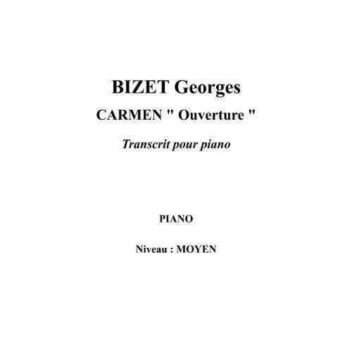 IPE MUSIC BIZET GEORGES - CARMEN