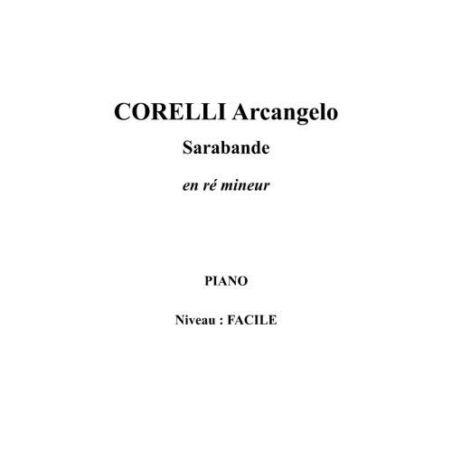 IPE MUSIC CORELLI ARCANGELO - SARABANDE EN RE MINEUR - PIANO