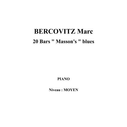 IPE MUSIC BERCOVITZ MARC - 20 BARS