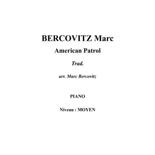 IPE MUSIC BERCOVITZ MARC - AMERICAN PATROL - PIANO