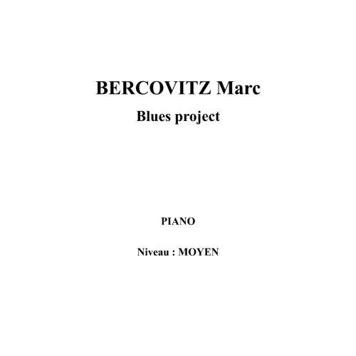 IPE MUSIC BERCOVITZ MARC - BLUES PROJECT - PIANO