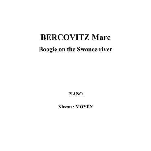 IPE MUSIC BERCOVITZ MARC - BOOGIE ON THE SWANEE RIVER - PIANO