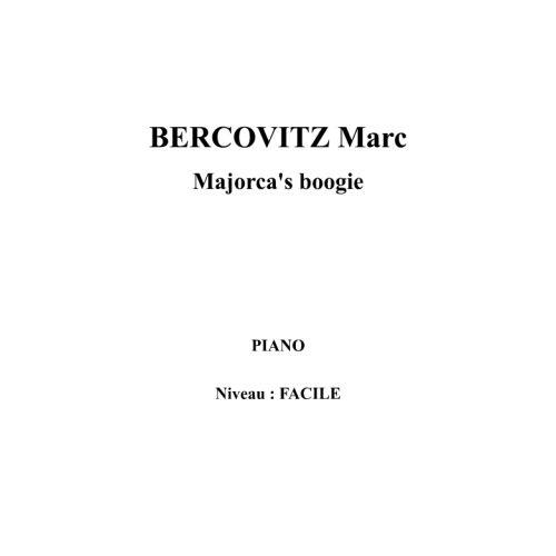 IPE MUSIC BERCOVITZ MARC - MAJORCA'S BOOGIE - PIANO