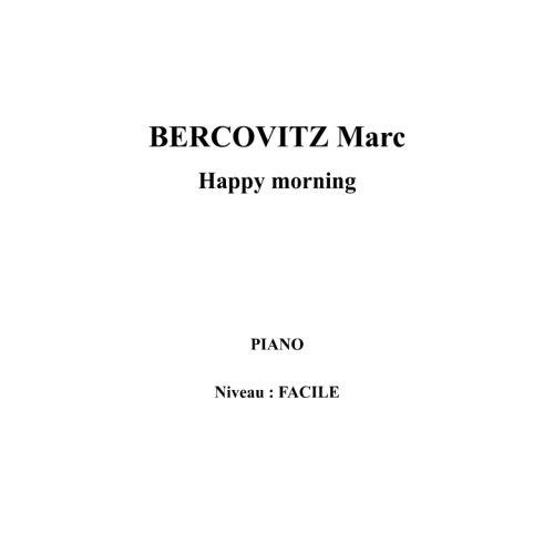 IPE MUSIC BERCOVITZ MARC - HAPPY MORNING - PIANO