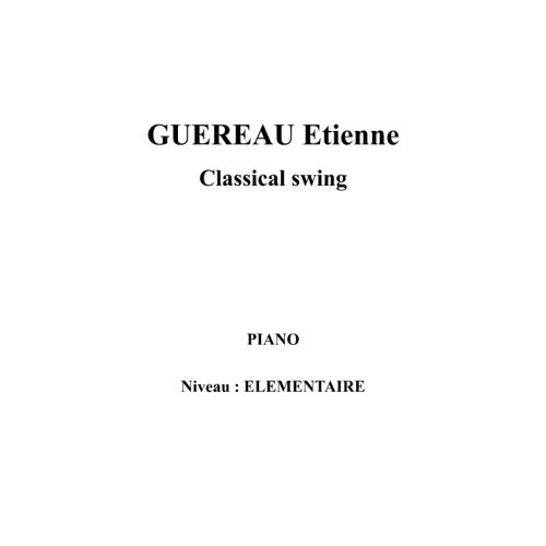 IPE MUSIC GUEREAU ETIENNE - CLASSICAL SWING - PIANO