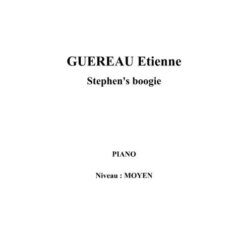 IPE MUSIC GUEREAU ETIENNE - STEPHEN'S BOOGIE - PIANO