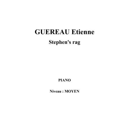 IPE MUSIC GUEREAU ETIENNE - STEPHEN'S RAG - PIANO