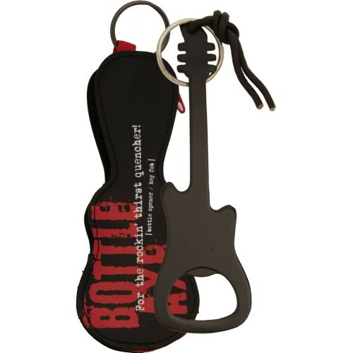 MUSIC SALES BOTTLE OPENER / KEY FOB BLACK FINISH
