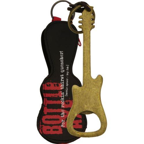 MUSIC SALES BOTTLE OPENER / KEY FOB BRONZE FINISH