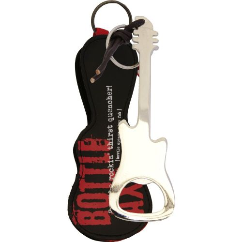 MUSIC SALES BOTTLE OPENER / KEY FOB SILVER FINISH